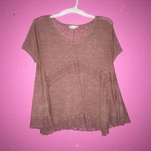 pink shirt sleeve shirt